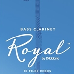 Rico Royal Bass Clarinet Reeds 10-Pack