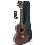 Kohala Concert Ukulele Player's Pack w/ tuner & bag