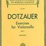 Dotzauer - Exercises for Cello Vol. 1