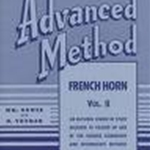 Rubank Advanced French Horn Vol. 2