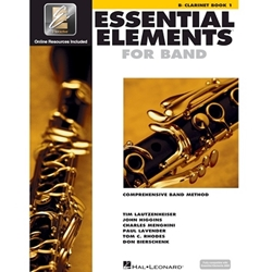 Essential Elements For Band Clarinet Bk. 1