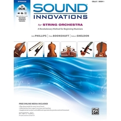 Sound Innovations for Strings Bk 1 Cello