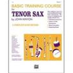 Basic Training Tenor Sax Bk 2