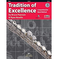 Tradition of Excellence TOE Book 1 - Flute