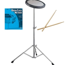 Drum Pad Kit with Drum Class Method Heim Book 1