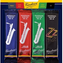 Vandoren Bari Sax Jazz Reed Mix Pack