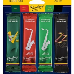 Vandoren Tenor Sax Jazz Reed Mix Pack